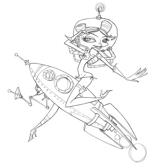 Image Gallery Jetpack Drawing Sketch Coloring Page